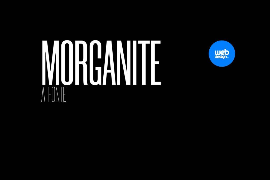 MORGANITE Fonte gratuita para download